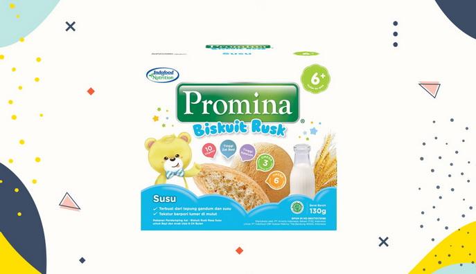 Cemilan Bayi Promina Biscuit Rusk