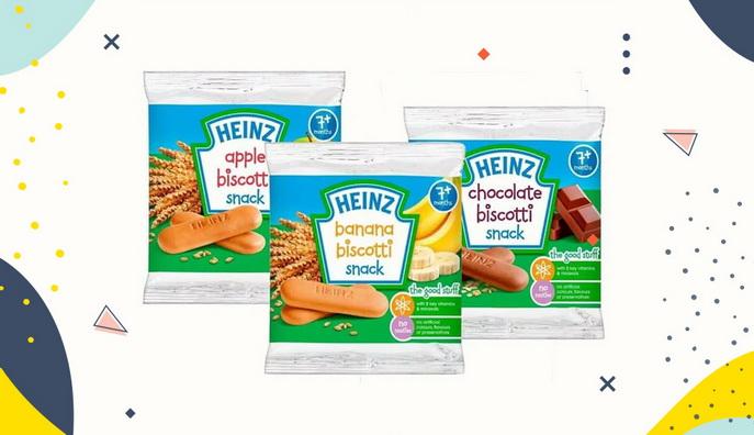 Cemilan Bayi Heinz Biscotti Snack