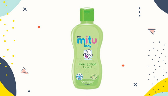 Hair lotion untuk bayi Mitu Baby Fresh and Clean Hair Lotion
