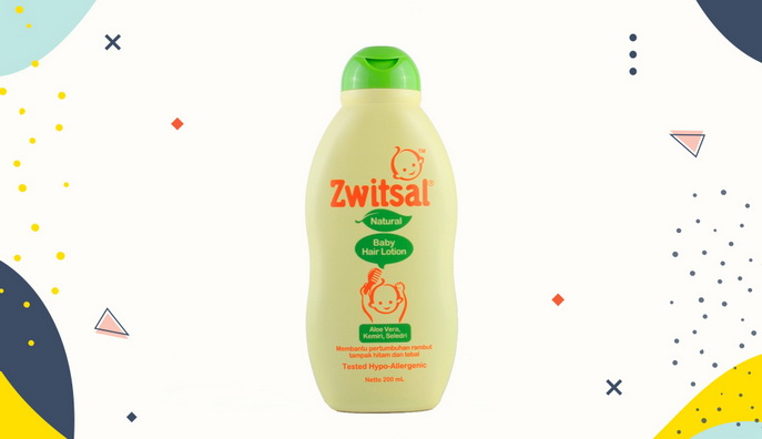 Hair lotion untuk bayi Zwitsal Baby Hair Lotion Natural
