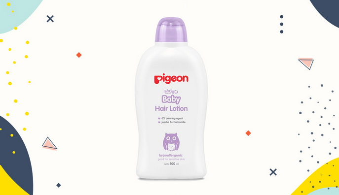 Hair lotion untuk bayi Pigeon Baby Hair Lotion