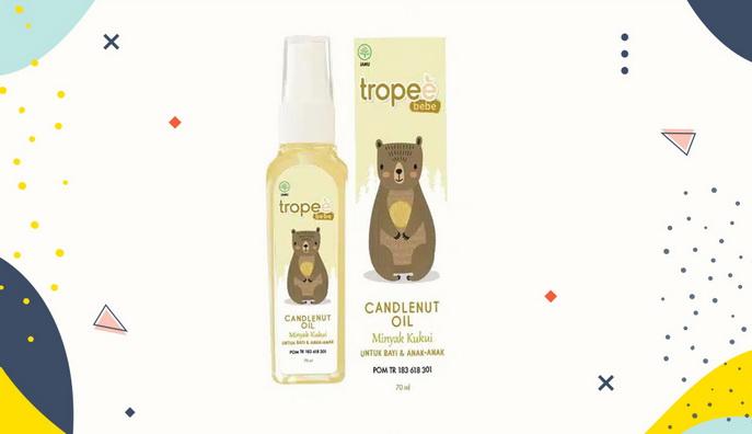 Hair lotion untuk bayi Tropee Bebe Candlenut Oil