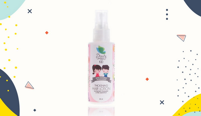 Hair lotion untuk bayi Beauty Barn Kids Hair Lotion