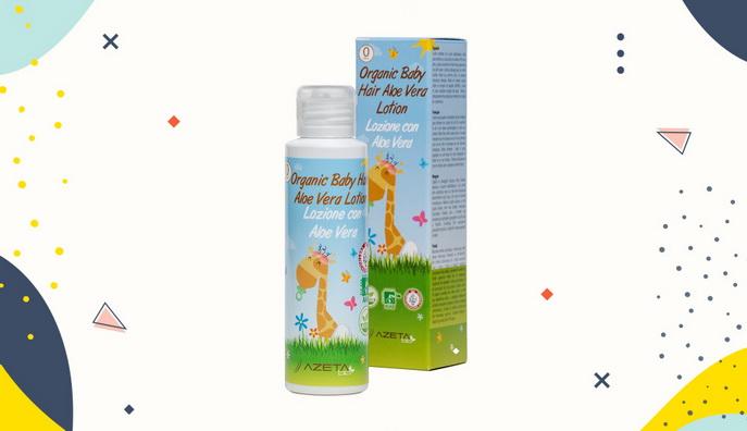 Hair lotion untuk bayi Azeta Baby Hair Aloe Vera Lotion