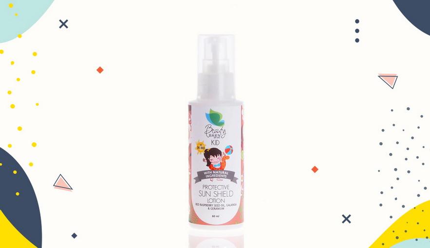 Sunblock untuk anak Beauty Barn Kid Protective Sun Shield Lotion