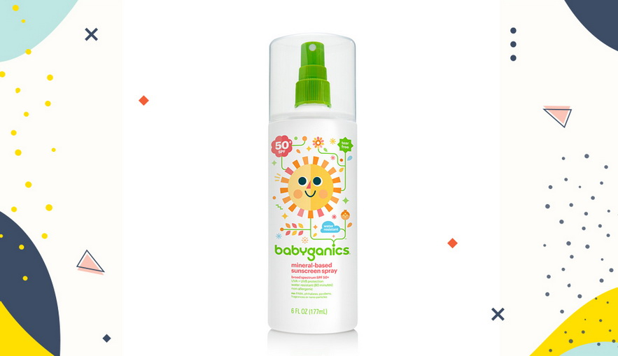 Sunblock untuk anak Babyganics spf 50+ Sunscreen Spray