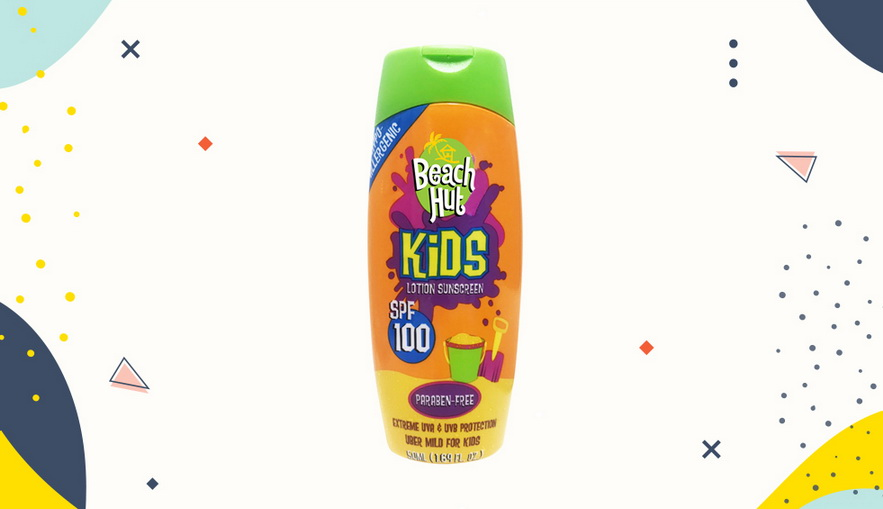 Sunblock untuk anak Beach Hut Kids Max SPF100++