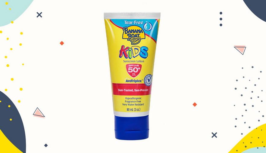 Sunblock untuk anak Banana Boat Kids Sunscreen Lotion