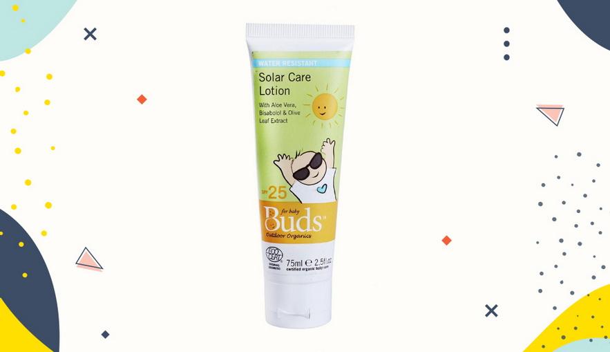 Sunblock untuk anak Buds Baby Solar Care Lotion SPF25