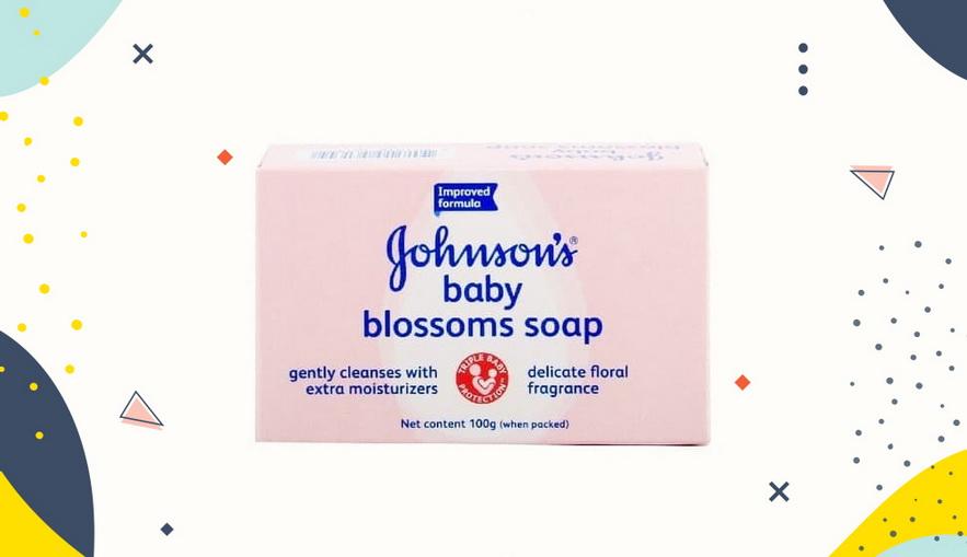 Sabun bayi dan anak Johnson's Baby Blossoms Soap
