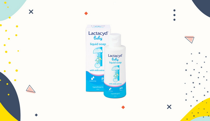 Sabun bayi dan anak Lactacyd Baby Liquid Soap