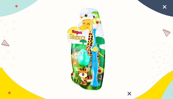 Sikat Gigi Bagus Safari Kids