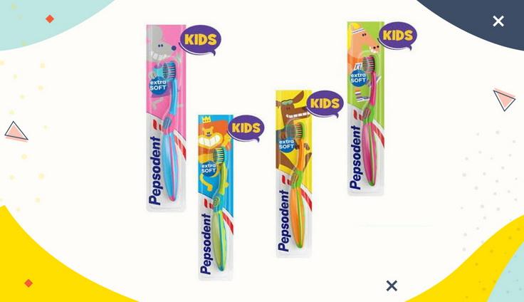 Sikat Gigi Pepsodent Kids Extra Soft