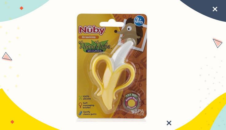 Nubby Banana Toothbrush
