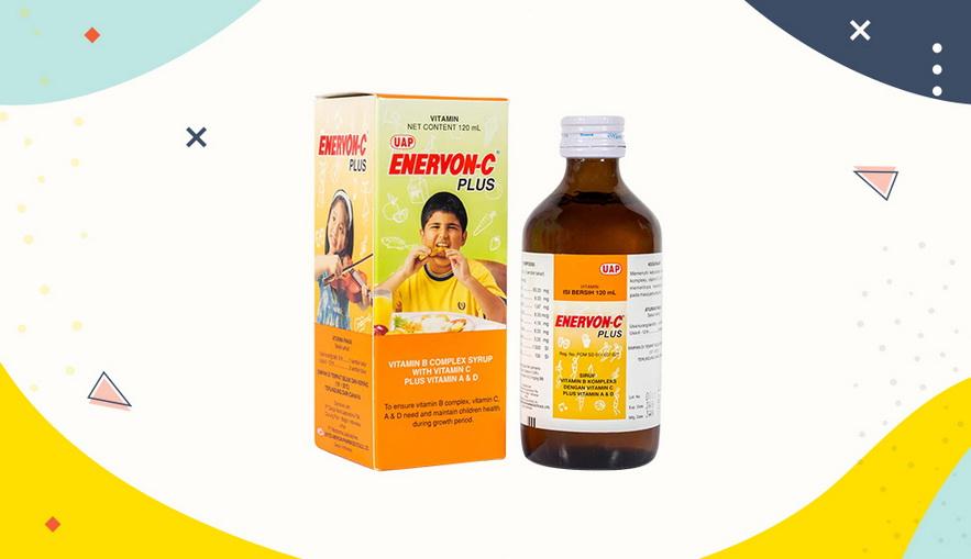 Rekomendasi Vitamin untuk Anak Enervon-C Plus Syrup