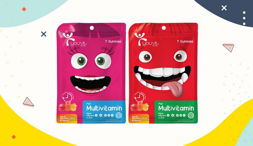 Rekomendasi Vitamin untuk Anak YOUVIT Multivitamin Anak