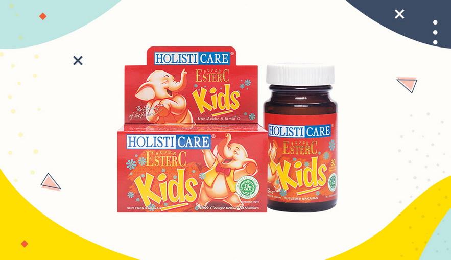 Rekomendasi Vitamin untuk Anak Holisticare Super Ester-C Kids