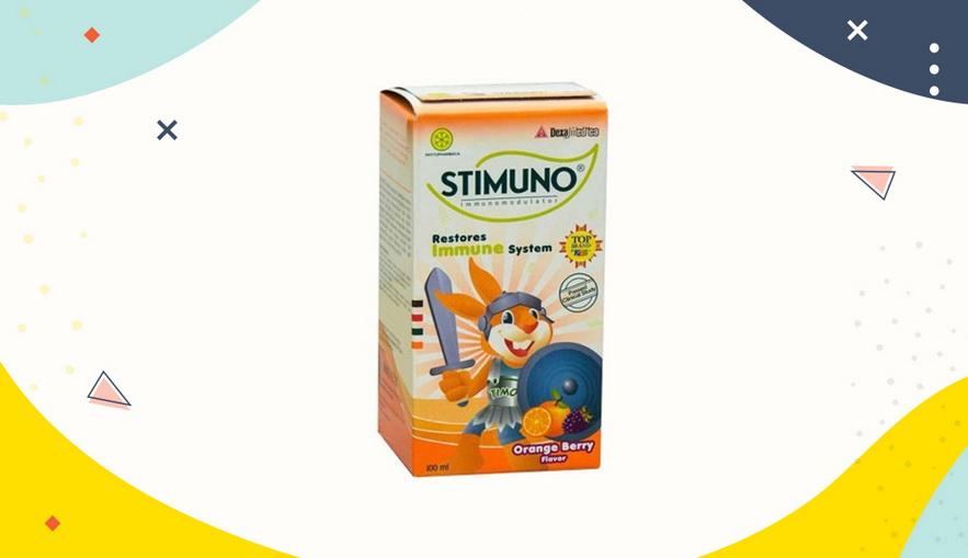 Rekomendasi Vitamin untuk Anak Stimuno Syrup