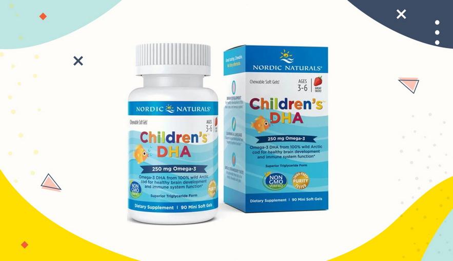 Rekomendasi Vitamin untuk Anak Nordic Naturals Children's DHA