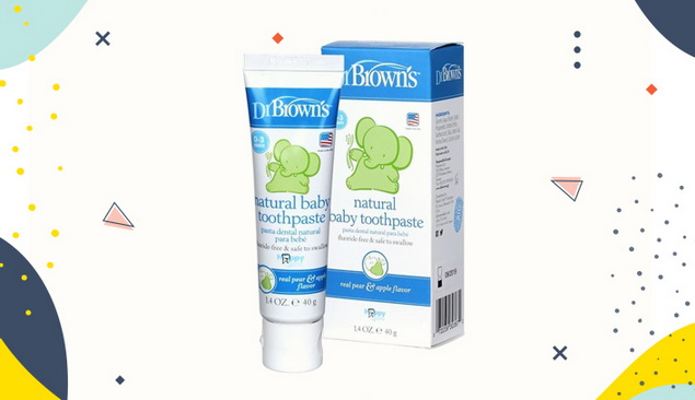 Pasta Gigi Anak Dr. Brown's Natural Baby Toothpaste