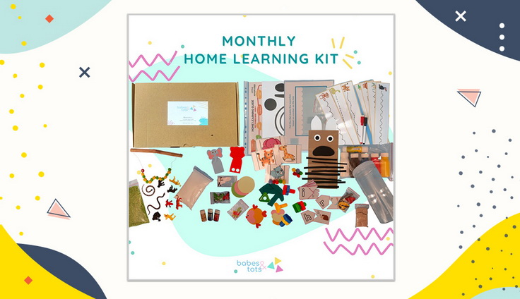 Paket Home Learning Babes and Tots
