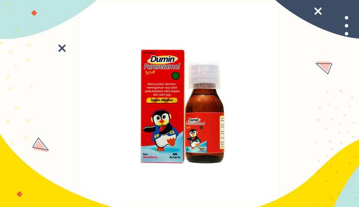 Obat Demam Anak Dumin Paracetamol Syrup