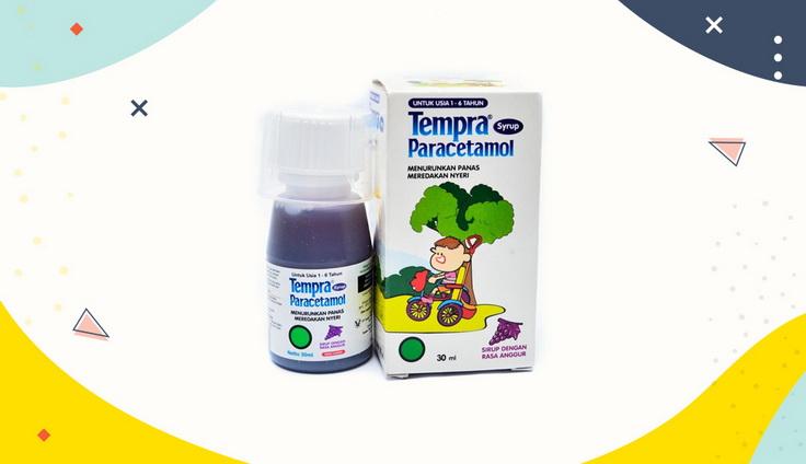 Obat Demam Anak Tempra Paracetamol