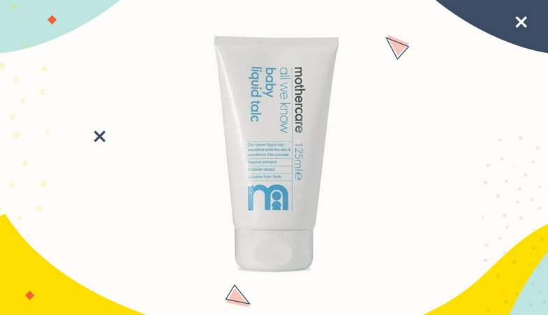 Mothercare All We Know Baby Liquid Talc