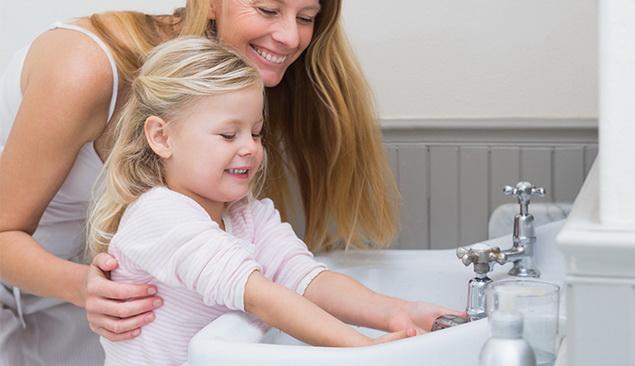 Rajin mencuci tangan