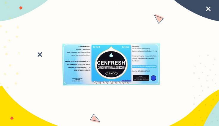 Cendo Cenfresh Eye Drops 5 Ml