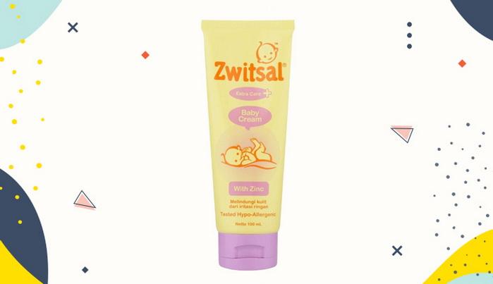 Krim Ruam Popok Zwitsal Extra Care Baby Cream