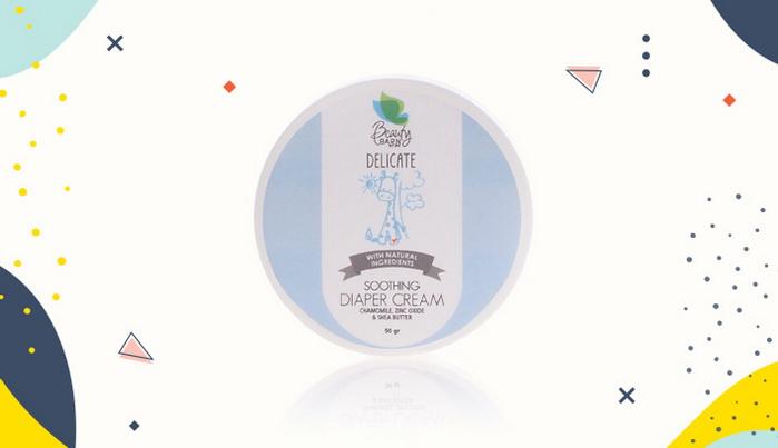 Krim Ruam Popok Beauty Barn Delicate Soothing Diaper Cream