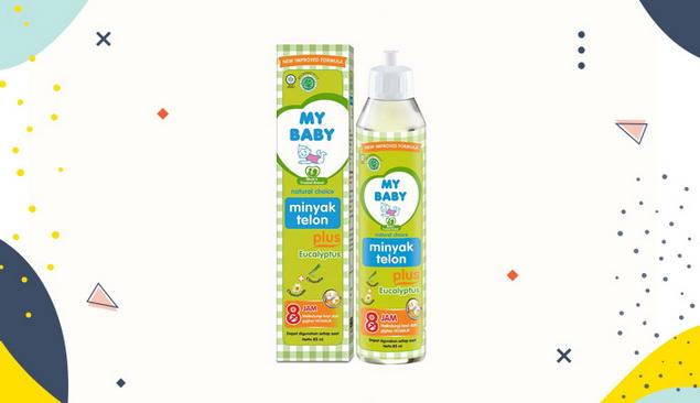 My Baby Minyak Telon Plus Eucalyptus